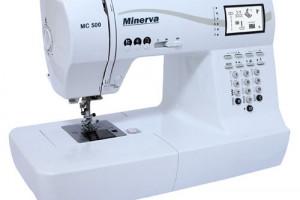 Швейная машина с электронным блоком Minerva MC 500