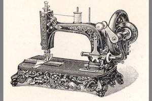 Швейная ручная машинка: устройство и ремонт привода