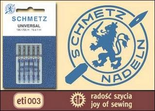 Иглы SCHMETZ стандартные - 5x90