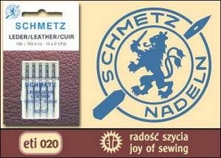 Иглы на бытовые швейные машины для шитья кожи