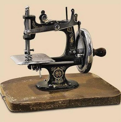 Общение со швейной машинкой