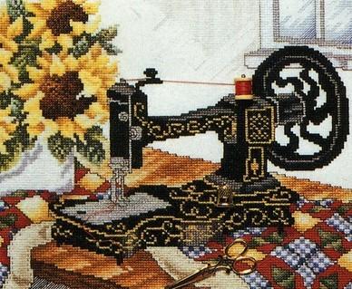 Вышивка на вышивальной машине