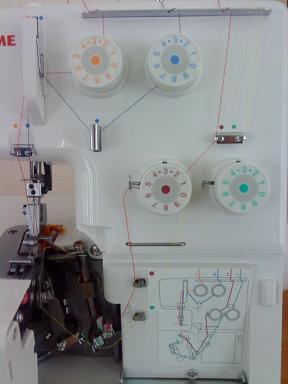 Усовершенствованная система заправки нитей