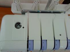 Регулятор давления лапки на ткань